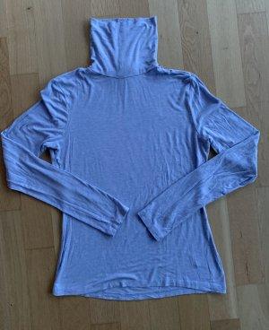 H&M Camisa de cuello de tortuga azul celeste