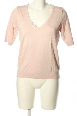 H&M V-Ausschnitt-Pullover pink Casual-Look