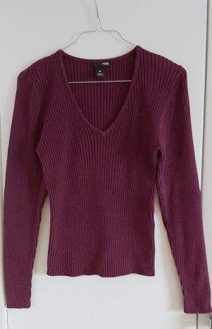 H&M V-Ausschnitt-Pullover