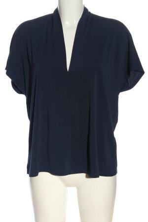 H&M V-Neck Shirt blue elegant
