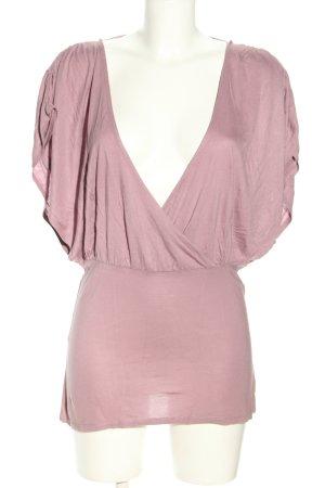 H&M V-Ausschnitt-Shirt pink Casual-Look