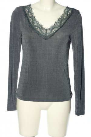 H&M V-Neck Shirt blue casual look