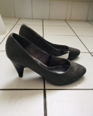 H&M Slingback Pumps grey-dark grey