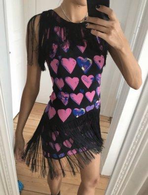 Versace for H&M Vestido con flecos multicolor