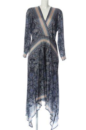 H&M Robe bas asymétrique imprimé allover élégant