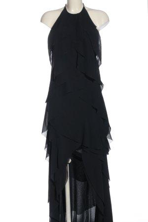 H&M Vestido mullet negro elegante