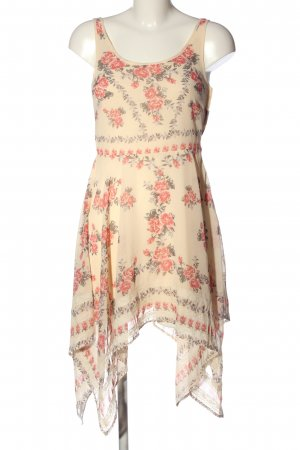 H&M High Low Dress allover print casual look