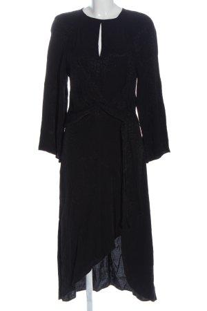 H&M Robe bas asymétrique noir style d'affaires