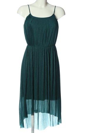 H&M Asymetryczna sukienka turkusowy Elegancki