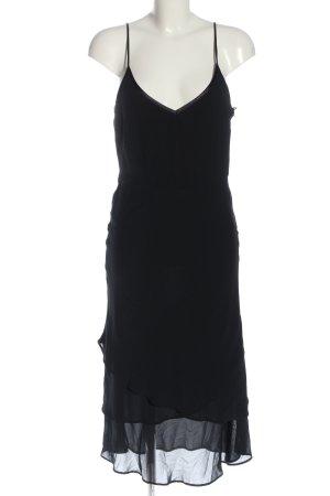 H&M Robe à volants noir style décontracté