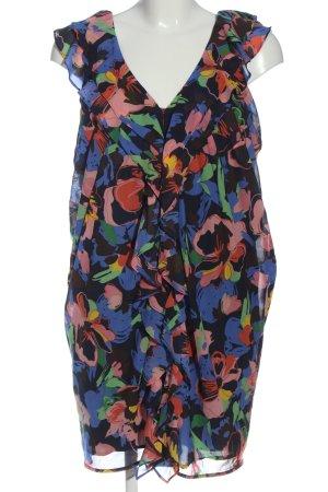 H&M Sukienka z falbanami Na całej powierzchni W stylu casual