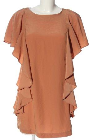 H&M Robe à volants brun style d'affaires