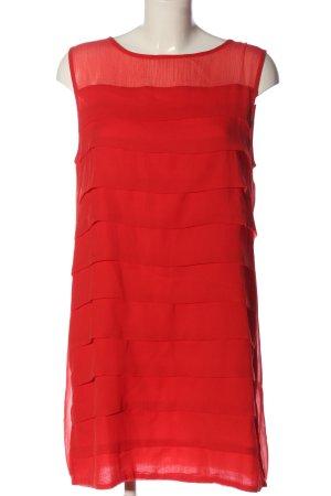 H&M Vestido estilo flounce rojo look casual