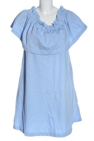 H&M Robe à volants bleu style décontracté