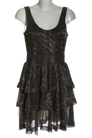 H&M Flounce Dress khaki elegant