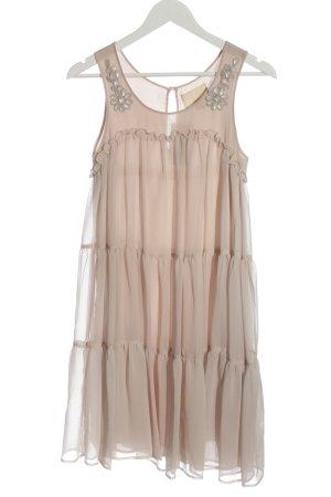H&M Robe à volants rose chair style décontracté
