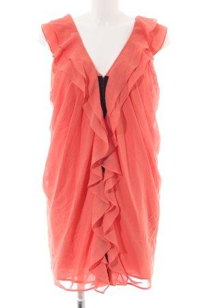 H&M Flounce Dress light orange elegant