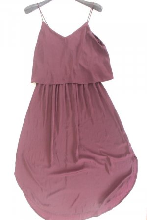 H&M Volantkleid Größe 40 Träger lila aus Polyester