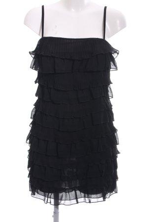 H&M Flounce Dress black elegant