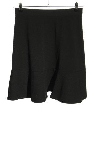 H&M Volanten rok zwart casual uitstraling