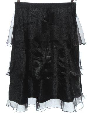 H&M Flounce Skirt black casual look