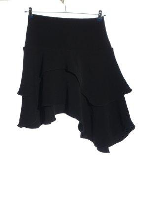 H&M Jupe à volants noir style décontracté