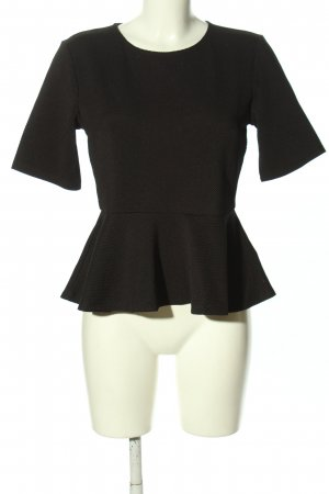H&M Flounce Top black casual look