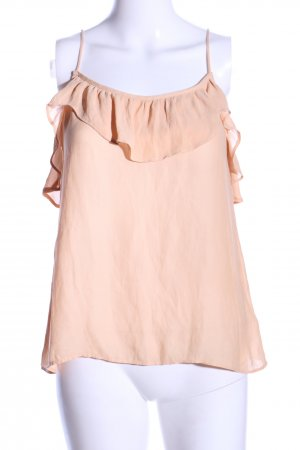 H&M Volanttop nude Casual-Look