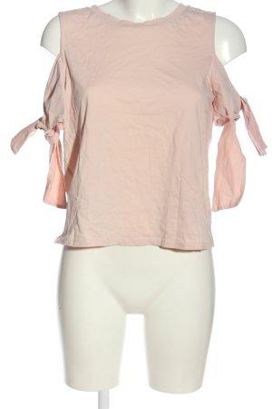 H&M Top z wycięciem różowy W stylu casual