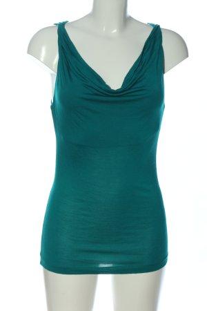 H&M Waterval shirt groen casual uitstraling