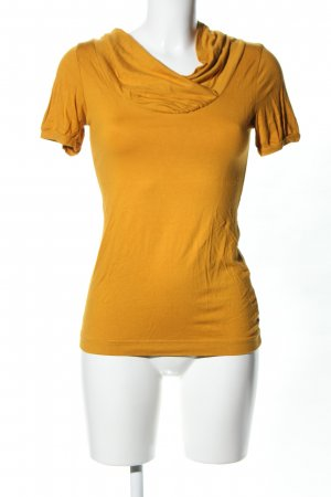 H&M Cowl-Neck Shirt light orange casual look