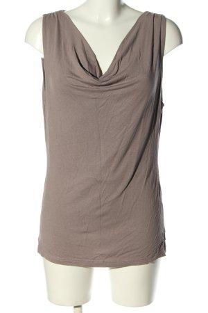 H&M Wasserfallshirt lila Casual-Look