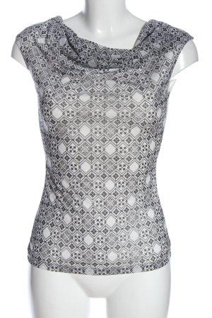 H&M Top col bénitier motif graphique style décontracté