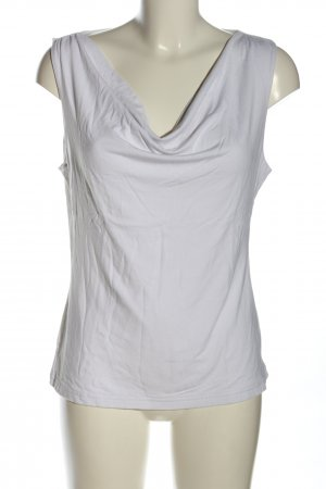 H&M Cowl-Neck Top white casual look