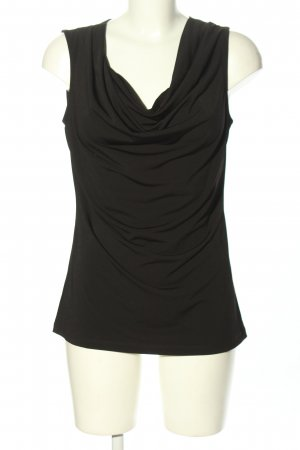 H&M Cowl-Neck Top black casual look