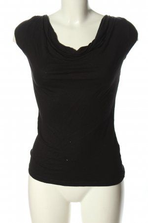 H&M Top collo ad anello nero stile casual