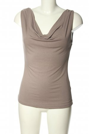 H&M Cowl-Neck Top light grey casual look