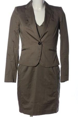 H&M Damespak bruin zakelijke stijl