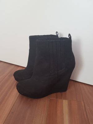 H&M Wedges Ankle Boots Keilabsatz Stiefelette Schuhe Stiefel Gr. 37
