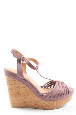 H&M Wedge Sandals light grey elegant