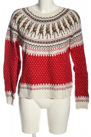 H&M Christmasjumper allover print casual look