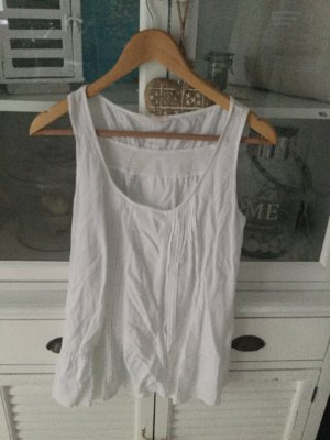 H&M weiß Tunika Top