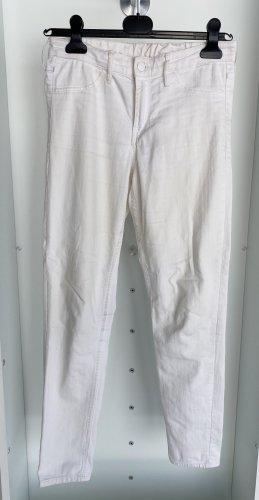 H&M - Weiße Jeans Skinny Ankle Regular Waist