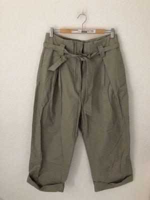 H&M Pantalone culotte grigio-grigio-verde