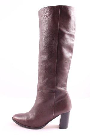 H&M Bottes à tige large brun style décontracté