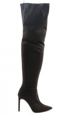 H&M Wide Calf Boots black casual look
