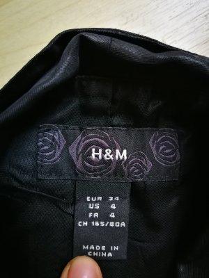 H&M Weste anzugweste schwarz