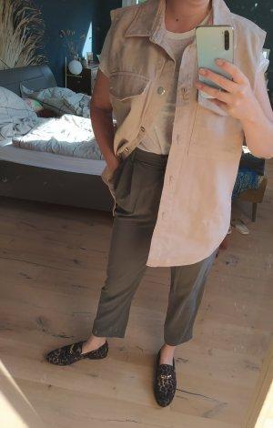 H&M Gilet en jean vieux rose