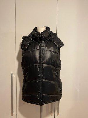H&M Weste Gr.44 Gr.XL schwarz Jacke