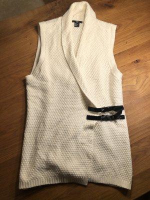 H&M Cache-cœur en tricot crème-blanc cassé